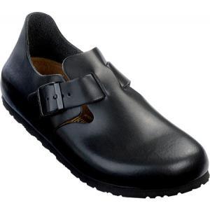ビルケンシュトック Birkenstock メンズ クロッグ シューズ・靴 London Leather Hunter Black Leather fermart-shoes