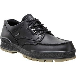 エコー メンズ シューズ・靴 Track II Low GORE-TEX Black/Black|fermart-shoes