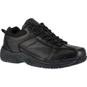 リーボック Reebok Work レディース シューズ・靴 スニーカー Jorie RB110 Sneaker Black Leather|fermart-shoes