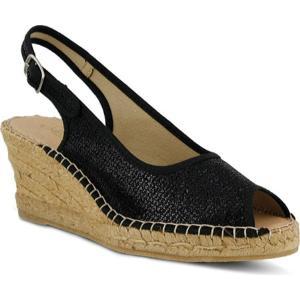 アズラ Azura レディース シューズ・靴 エスパドリーユ Boltz Black Textile|fermart-shoes