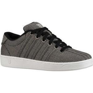ケースイス K-Swiss レディース スニーカー シューズ・靴 Court Pro II T SE CMF Sneaker Black/Silver/White fermart-shoes