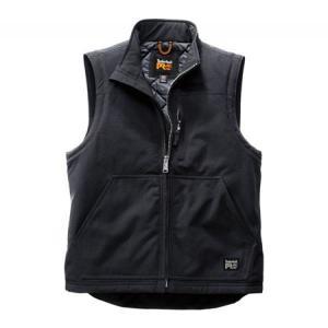 ティンバーランド メンズ ベスト・ジレ トップス Split System Insulated Vest Jet Black|fermart-shoes