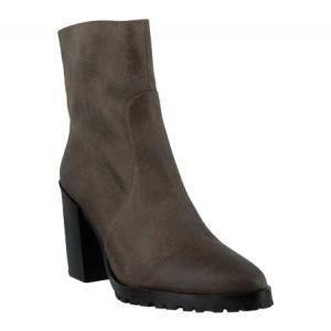 アズラ Azura レディース シューズ・靴 ブーツ Ranau Ankle Boot Gray Synthetic|fermart-shoes