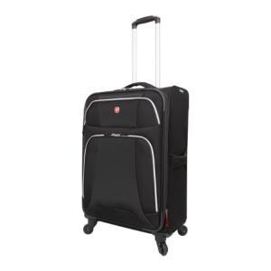 ウェンガー メンズ スーツケース・キャリーバッグ バッグ Monte Leone Collection Medium Spinner Black|fermart-shoes