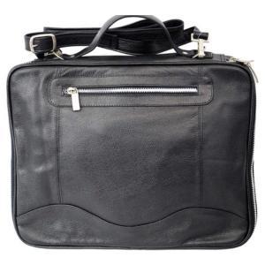 ピエルレザー メンズ タブレットケース Laptop/Tablet Case 3122 Black|fermart-shoes