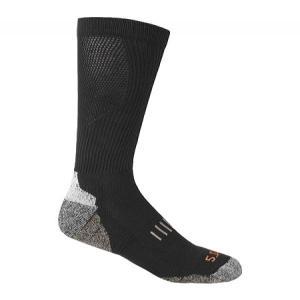 5.11 タクティカル 5.11 Tactical メンズ ソックス インナー・下着 Year Round OTC Sock (2 Pairs) Black fermart-shoes