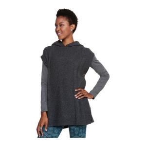 トードアンドコー レディース ポンチョ アウター Pico Poncho Sweater Charcoal Heather...
