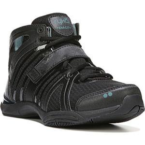 ライカ Ryka レディース スニーカー シューズ・靴 Tenacity Training Sneaker Black/Green|fermart-shoes