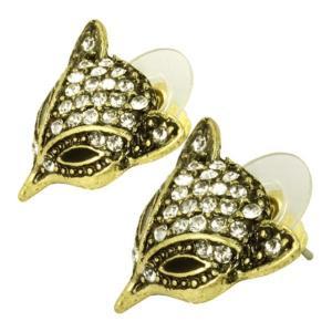 ケイトマリー レディース イヤリング・ピアス ジュエリー・アクセサリー Fashion Earrings Fox 1 Black|fermart-shoes