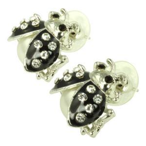 ケイトマリー レディース イヤリング・ピアス ジュエリー・アクセサリー Fashion Earrings Ladybug Black|fermart-shoes