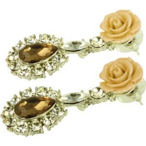 ケイトマリー レディース イヤリング・ピアス ジュエリー・アクセサリー Fashion Earrings Rose 1 Brown|fermart-shoes