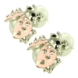 ケイトマリー レディース イヤリング・ピアス ジュエリー・アクセサリー Fashion Earrings Ladybug Pink|fermart-shoes