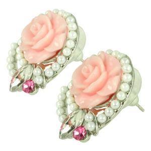 ケイトマリー レディース イヤリング・ピアス ジュエリー・アクセサリー Fashion Earrings Rose 5 Pink|fermart-shoes