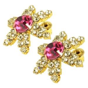 ケイトマリー レディース イヤリング・ピアス ジュエリー・アクセサリー Fashion Earrings Snowflake 1 Pink|fermart-shoes