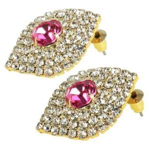 ケイトマリー レディース イヤリング・ピアス ジュエリー・アクセサリー Fashion Earrings Drop Pink|fermart-shoes
