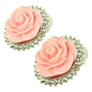 ケイトマリー レディース イヤリング・ピアス ジュエリー・アクセサリー Fashion Earrings Rose 4 Pink|fermart-shoes