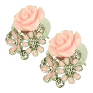 ケイトマリー レディース イヤリング・ピアス ジュエリー・アクセサリー Fashion Earrings Rose 6 Pink|fermart-shoes