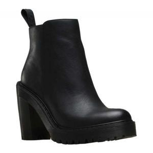 ドクターマーチン Dr. Martens レディース シューズ・靴 ブーツ Magdalena Bootie Black Polished Wyoming|fermart-shoes