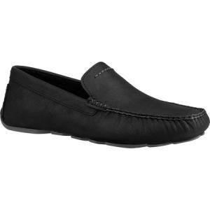 アグ UGG メンズ ドライビングシューズ シューズ・靴 Henrick Driving Moc Black Full Grain Leather|fermart-shoes