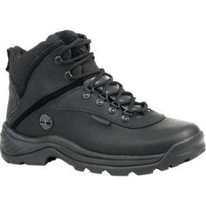 ティンバーランド メンズ ブーツ シューズ・靴 White Ledge Mid Waterproof Black fermart-shoes