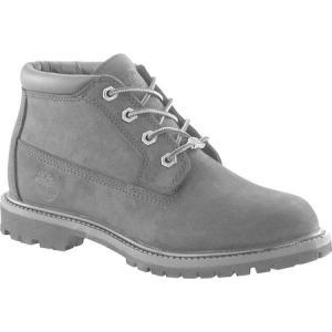 ティンバーランド レディース シューズ・靴 Classic Nellie Black Nubuck Leather fermart-shoes
