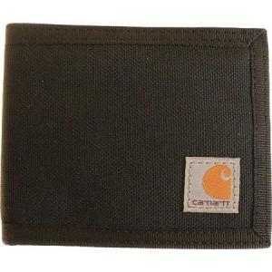 カーハート Carhartt メンズ 財布 Extremes Cordura Nylon Passcase Wallet Black|fermart-shoes