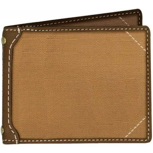 カーハート メンズ 財布 Canvas Passcase Wallet Brown|fermart-shoes