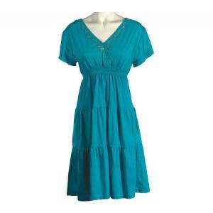 オハイ レディース ワンピース ワンピース・ドレス Boho Dress Turquoise fermart-shoes