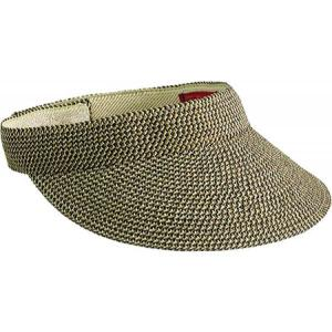 サンディエゴハット レディース サンバイザー 帽子 Ultrabraid Small Brim Visor UBV003 Mixed Brown|fermart-shoes