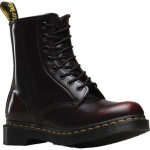 ドクターマーチン Dr. Martens レディース ブーツ シューズ・靴 1460 8-Eye Boot W Cherry Red Arcadia|fermart-shoes