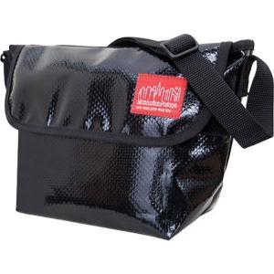 マンハッタンポーテージ Manhattan Portage レディース バッグ ショルダーバッグ Vinyl NY Messenger Bag Black fermart-shoes