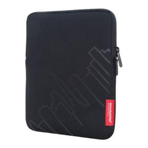 マンハッタンポーテージ メンズ iPadケース iPad Sleeve Skyline Black|fermart-shoes