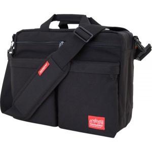 マンハッタンポーテージ Manhattan Portage レディース バッグ ブリーフケース Tribeca Bag With Back Zipper Black|fermart-shoes