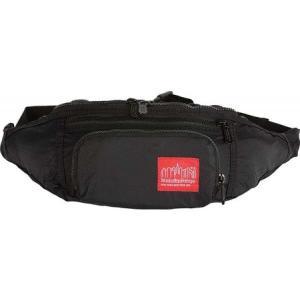 マンハッタンポーテージ メンズ ボディバッグ・ウエストポーチ バッグ Packable Alleycat Waist Bag Black|fermart-shoes