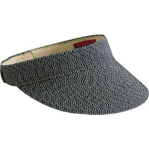 サンディエゴハット レディース サンバイザー 帽子 Ultrabraid Small Brim Visor UBV003 Mixed Navy|fermart-shoes