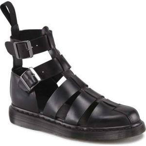 ドクターマーチン Dr. Martens レディース サンダル・ミュール アンクルストラップ シューズ・靴 Geraldo Ankle Strap Sandal Black Brando|fermart-shoes