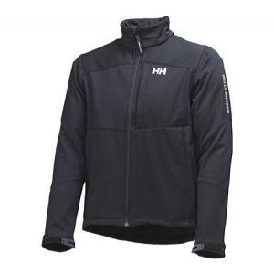 ヘリーハンセン メンズ ジャケット アウター Paramount Softshell Jacket Black|fermart-shoes