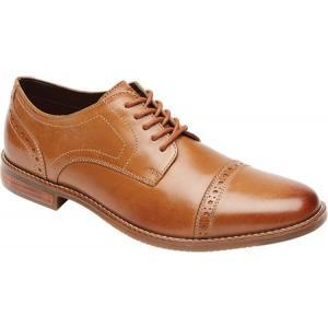 ロックポート Rockport メンズ シューズ・靴 ビジネスシューズ Style Purpose Cap Toe Oxford Tan Leather fermart-shoes