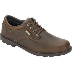 ロックポート メンズ 革靴・ビジネスシューズ シューズ・靴 Storm Surge Plain Toe Oxford Tan Leather|fermart-shoes