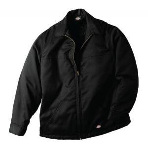 ディッキーズ メンズ ジャケット アウター Hip Length Twill Jacket Black|fermart-shoes