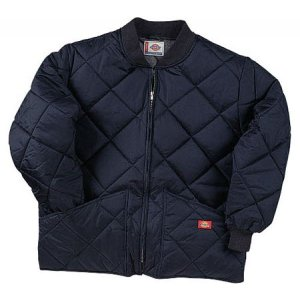 ディッキーズ メンズ ジャケット アウター Diamond Quilted Nylon Jacket Dark Navy|fermart-shoes