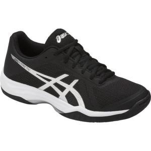 アシックス レディース シューズ・靴 バレーボール GEL-Tactic 2 Volleyball Shoe Black/Silver/White|fermart-shoes