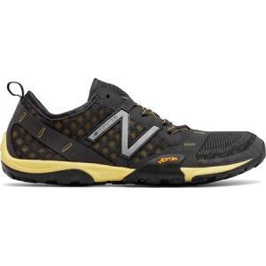 ニューバランス メンズ シューズ・靴 ランニング・ウォーキング Minimus 10v1 Trail Running Shoe Dark Grey/Yellow|fermart-shoes