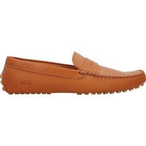 ラコステ Lacoste メンズ ドライビングシューズ シューズ・靴 Concours 116 1 Driving Moc Tan Leather|fermart-shoes