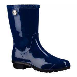 アグ レディース レインシューズ・長靴 シューズ・靴 Sienna Rain Boot Blue Jay fermart-shoes