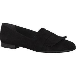 タマリス レディース ローファー・オックスフォード シューズ・靴 Alena Loafer Black Leather fermart-shoes