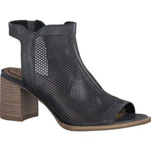 タマリス レディース サンダル・ミュール シューズ・靴 Vivi Caged Sandal Navy Leather fermart-shoes