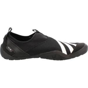 アディダス メンズ ウォーターシューズ シューズ・靴 Climacool Jawpaw Slip On Water Shoe Black/White/Silver Metallic fermart-shoes