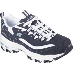スケッチャーズ Skechers レディース シューズ・靴 サンダル D'Lites Sneaker Biggest Fan/Navy/White fermart-shoes