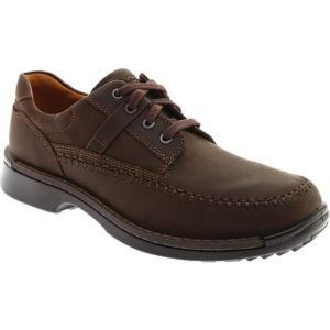 エコー メンズ 革靴・ビジネスシューズ シューズ・靴 Fusion II Moc Toe Tie|fermart-shoes
